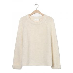 AMERICAN VINTAGE EAST SWEATER EAST18A-NACRE CHINE
