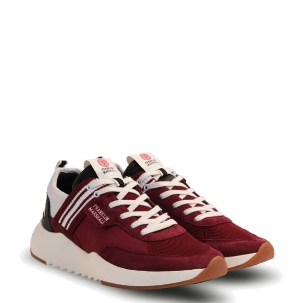 FRANKLIN MARSHALL ALPHA TEAM SNEAKERS FFIE0011L-2932-BORDEAUX