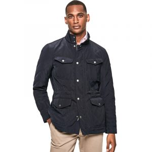 HACKETT NEW FENTON JACKET HM402549-595-NAVY