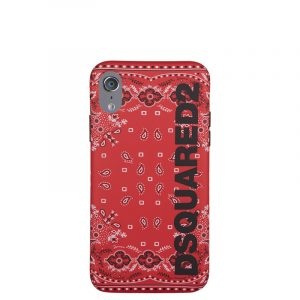 DSQUARED2 i-PHONE X CASE ITM0035 55000001 M037 RED