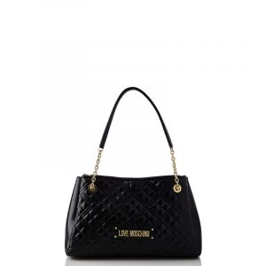 LOVE MOSCHINO SHOULDER BAG JC4205PP0BKA0-000-BLACK