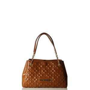 LOVE MOSCHINO SHOULDER BAG JC4205PP0BKA0-200-CARAMEL