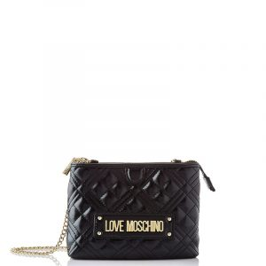 LOVE MOSCHINO SHOULDER BAG JC4209PP0BKA0-000-BLACK