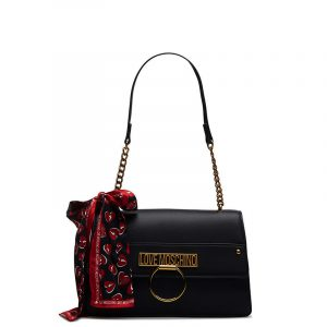 LOVE MOSCHINO SHOULDER BAG JC4230PP0BKF0-000-BLACK
