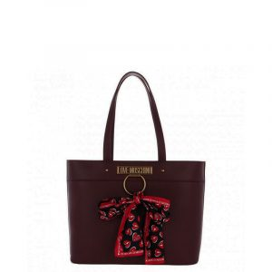 LOVE MOSCHINO SHOULDER BAG JC4232PP0BKF0-552-VINO