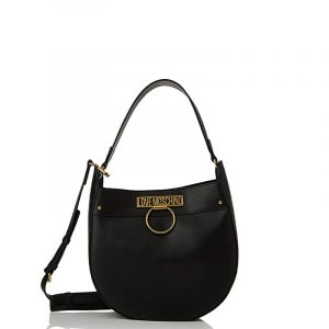 LOVE MOSCHINO SHOULDER BAG JC4233PP0BKF0-000-BLACK