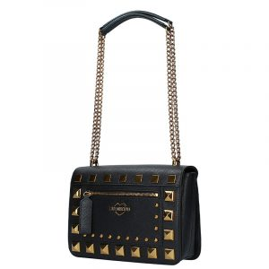 LOVE MOSCHINO SHOULDER BAG JC4280PP0BKO0-000-BLACK