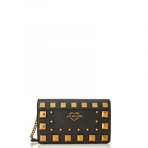 LOVE MOSCHINO SHOULDER BAG JC4283PP0BKO0-000-BLACK