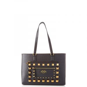 LOVE MOSCHINO SHOULDER BAG JC4285PP0BKO0-000-BLACK