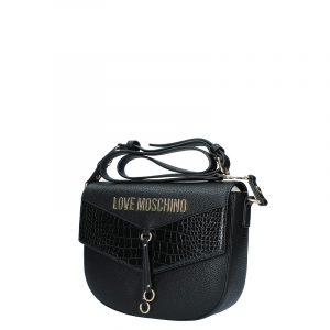 LOVE MOSCHINO SHOULDER BAG JC4287PP0BKP1-00A-BLACK