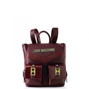 LOVE MOSCHINO BACKPACK JC4290PP0BKP1-50A-VINO