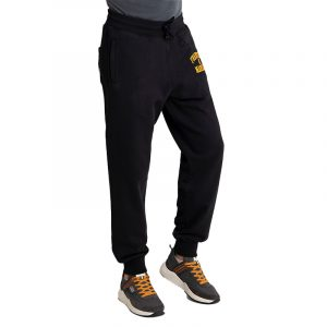 FRANKLIN MARSHALL BRUSHED COTTON FLEECE PANTS JM1003.000.2002P01-098-BLACK