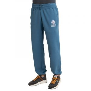 FRANKLIN MARSHALL BRUSHED COTTON FLEECE PANTS JM1004.000.2002P01-215-BLUE