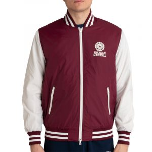 FRANKLIN MARSHALL NYLON JACKET JM8003.000.8002P00-315-BORDEAUX