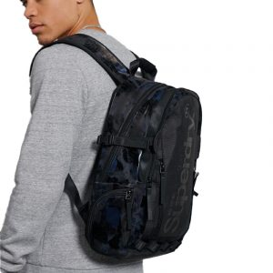 SUPERDRY HARBOUR TARP BACKPACK M9110126A-11S-NAVY