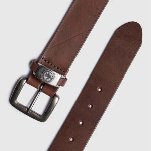 MARLBORO CLASSICS ORIGINAL LEATHER BELT MCS-M-B-03004-096-SEAL BROWN