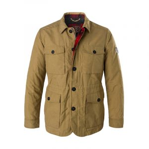 MARLBORO CLASSICS WAXED COTTON NYLON FIELD JACKET MCS-M-J-03007-530-CANDED GINGER