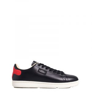 SUPERDRY VINTAGE TENNIS TRAINER SNEAKERS MF110047A-37A-BLACK/RED