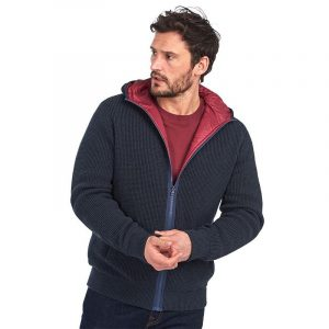 BARBOUR KNIT CARDIGAN MKN1280-NY91-NAVY