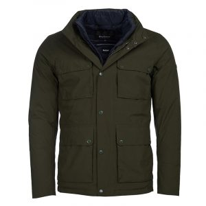 BARBOUR LANE WATERPROOF JACKET MWB0833-SG51-GREEN