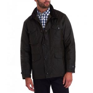 BARBOUR SAPPER JACKET MWX0020-OL71-OLIVE