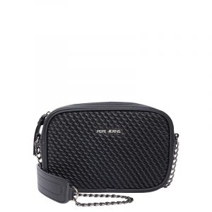 PEPE JEANS OLIVIA SHOULDER BAG PL031179-999-BLACK