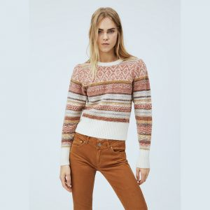 PEPE JEANS ROBERTA KNIT SWEATER PL701670-0AA-MULTI