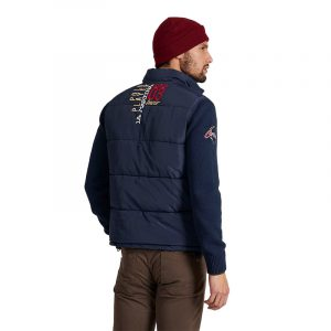 LA MARTINA OUTDOOR POLYESTER DOWN JACKET QMO602 PL015 07017-NAVY