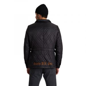 LA MARTINA L/S OUTDOOR JACKET QMOE32 PA038 09999-BLACK