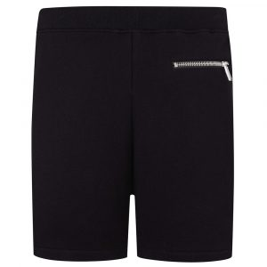 DSQUARED2 STRIPE LOGO JOGGER SHORTS S74MU0602-S25042 900-BLACK