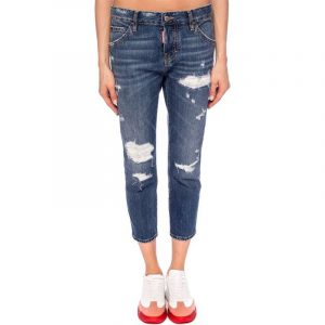 DSQUARED2 COOL GIRL CROPPED JEAN S75LB0316 S30309 470-BLUE
