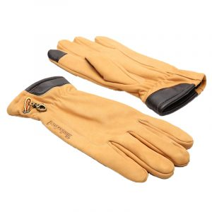 TIMBERLAND NUBUCK GLOVE WITH TOUCH TIPS TB0A1EMN-231-WHEAT NUBUCK