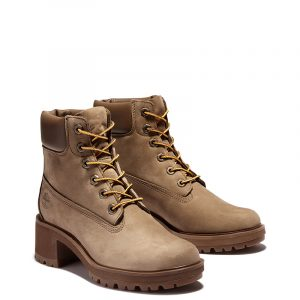 TIMBERLAND KINSLEY 6 IN WATERPROOF BOOT TB0A2B9K-J98-DARK BEIGE NUBUCK