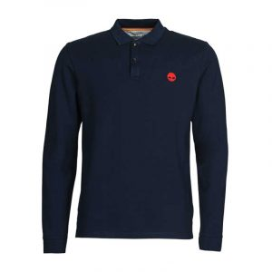 TIMBERLAND LS MILLERS RIVER PIQUE POLO TB0A2BNV-433-DARK SAPPHIRE