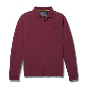 TIMBERLAND LS MILLERS RIVER PIQUE POLO TB0A2BNV-I30-PORT ROYALE