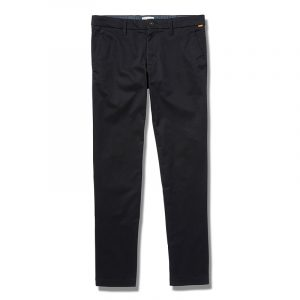 TIMBERLAND S-L STRETCH TWILL CHINO PANTS TB0A2BYY-001-BLACK