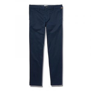 TIMBERLAND S-L STRETCH TWILL CHINO PANTS TB0A2BYY-433-DARK SAPPHIRE