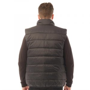 TIMBERLAND PADDED ENTRY VEST TB0A2CC8-001-BLACK