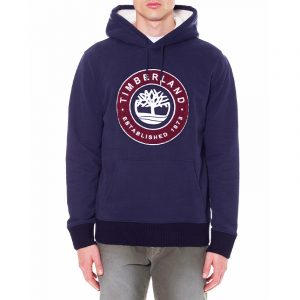 TIMBERLAND LITTLE COLD RIVER HOODIE BOUCLE TREE TB0A2CQD-433-DARK SAPPHIRE