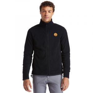 TIMBERLAND MM FULL ZIP CLS CARDIGAN TB0A2CWN-001-BLACK