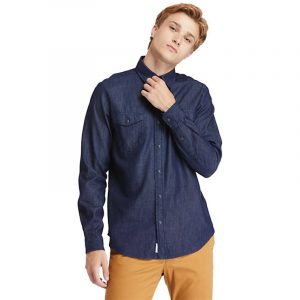 TIMBERLAND L/S DENIM REGULAR SHIRT TB0A2D6R-H87-RINSE