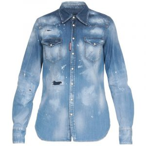 DSQUARED2 T-SHIRT S72DL0613-S30341-470 DENIM