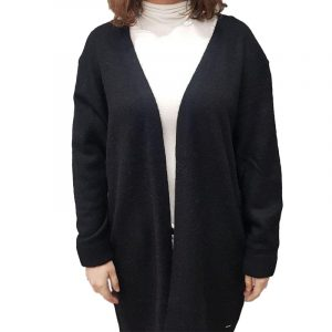 SUPERDRY ALPACA BLEND CARDIGAN W6110150A-02A-BLACK