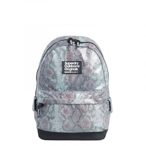 SUPERDRY GLITTER SCALE MONTANA BACKPACK W9110111A-33G-BLUE