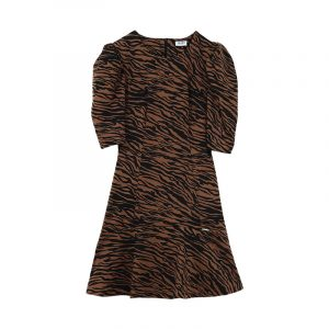 LIU JO ABITO LYPOVA DRESS WF0111J4028-T9127-WINTER ANIMALIER