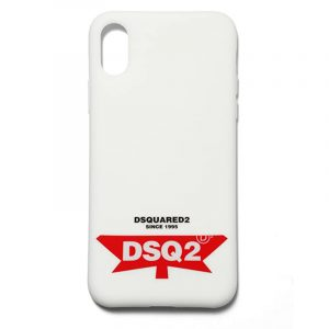 DSQUARED2 i-phone X CASE ITM0005 55000001 1062 WHITE