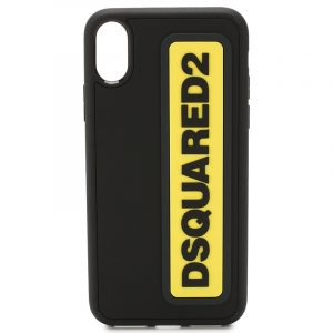 DSQUARED2 i-phone X CASE ITM0064 35802197 M652 BLACK