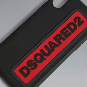 DSQUARED2 i-phone X CASE ITM0064 35802197 M002 BLACK
