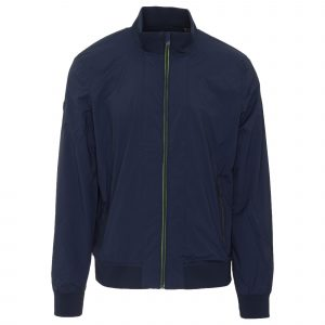 SUPERDRY LIGHTWEIGHT HARRINGTON BOMBER JACKET M5010038A ADQ-RICH NAVY