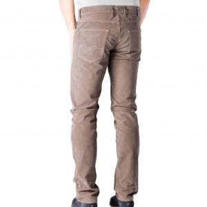 REPLAY GROVER GARMENT DYED STRETCH CORDUROY MA972.000 8082990.120-CORD BROWN